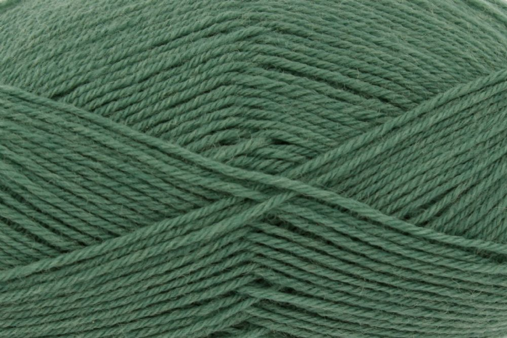King Cole Pure Wool Yarn 500g Cone 4ply - Ivy